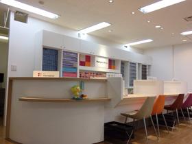 メニコン名古屋 金山店店内